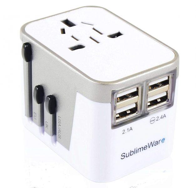 International USB Travel Adapter