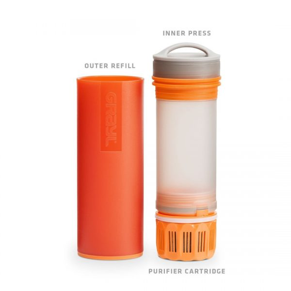 Must-Havet Outdoor Gadget - GRAYL Ultralight Purifier Bottle