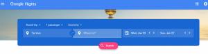 Google Flights one of the flight search hacks