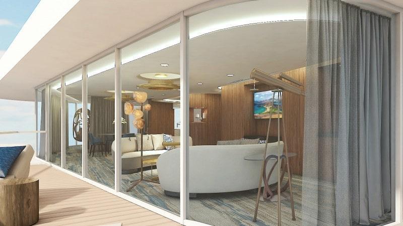 Celebrity Flora Penthouse Suite