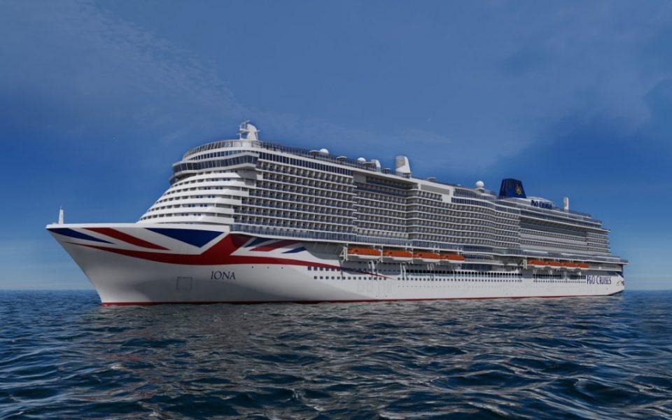 Iona. Image courtesy of P&O Cruises