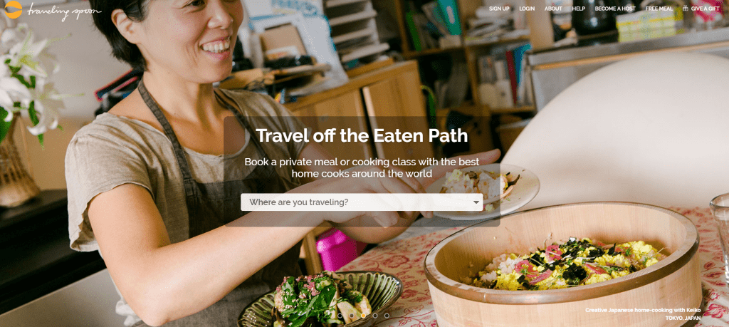 TravelingSpoon - Best travel food app when travelling in Asia