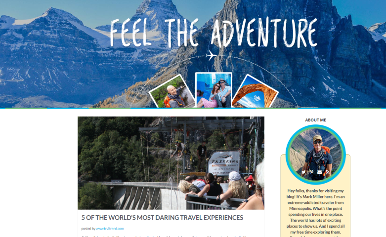 Travel guest blog example