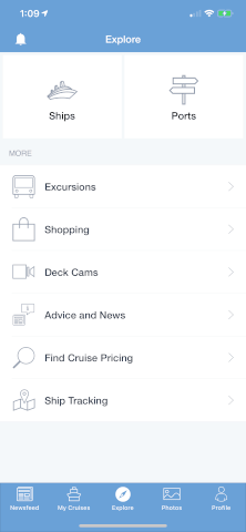 Top Cruise app | Ship Mate app
