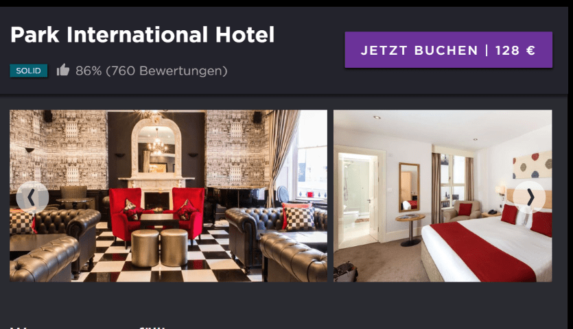 Hoteltonight.com one of the hotel comparison websites that gets a better deal than booking.com