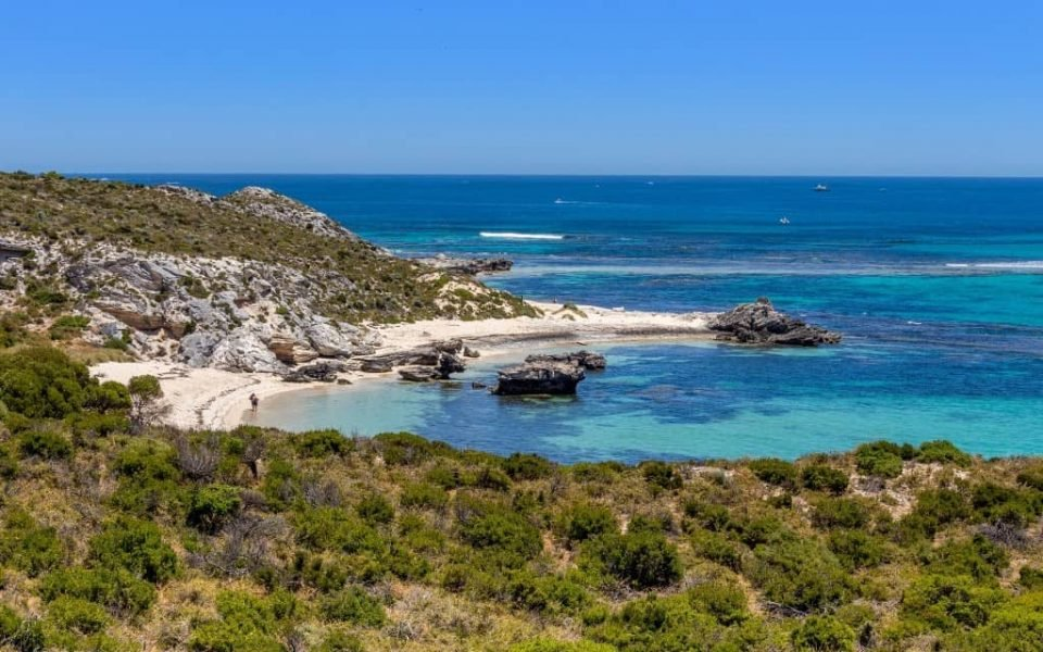 Rottnest Island, Western Australia - around 63 stunning beaches and 20 exquisite bays