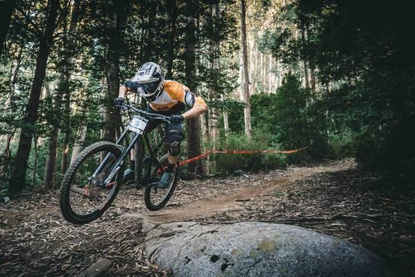 Diverse bike trails at the Alpe d'Huez