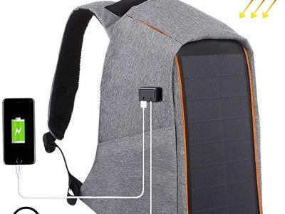 HAWEEL Solar Charger Backpack with USB Charging Port | Review [2020]