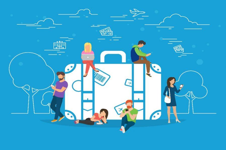 WAZE helps travelers reach their destination