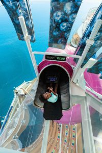Allure of the Seas highest slide