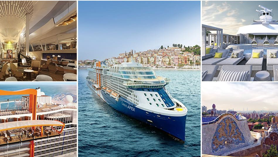 Celebrity Apex will set sail around the Mediterranean this summer with cruises ranging from seven to an extra long 12 nights. (Photos Celebrity Cruises)