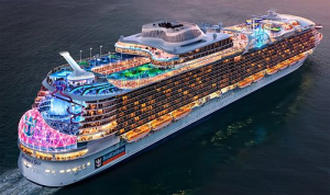 Royal Caribbean wonder of the seas new ship delayed
