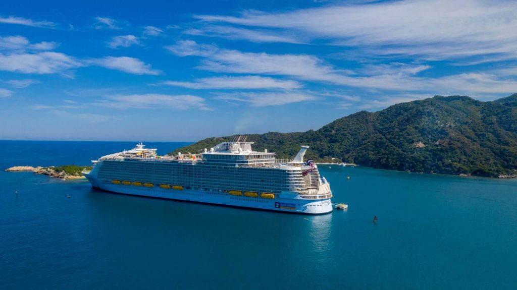 Royal Caribbean cancellation figure: almost 50%