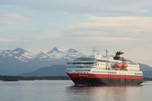 Norwegian expedition line Hurtigruten Cruises is world's first ocean cruise liner to resume sailing