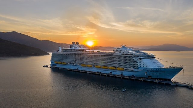 Wonder of the Seas, which will overtake Royal Caribbean's Symphony of the Seas as the world's largest cruise ship
