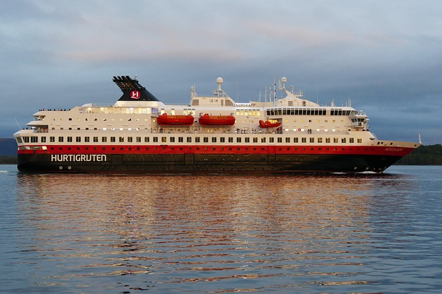 Hurtigruten was first cruise line to resume ocean sailings