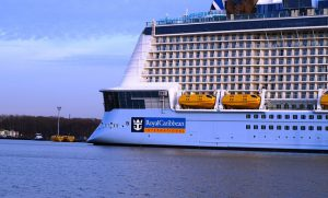 Largest cruise ship in the world, Wonder of the Seas, floats out for first time
