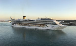 Costa Diadema is Costa Cruises' second ship to restart operation