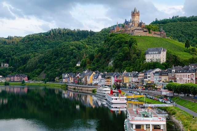 13 cases confirmed on board the MS Vista Serenity which was sailing along the Moselle River in Germany.