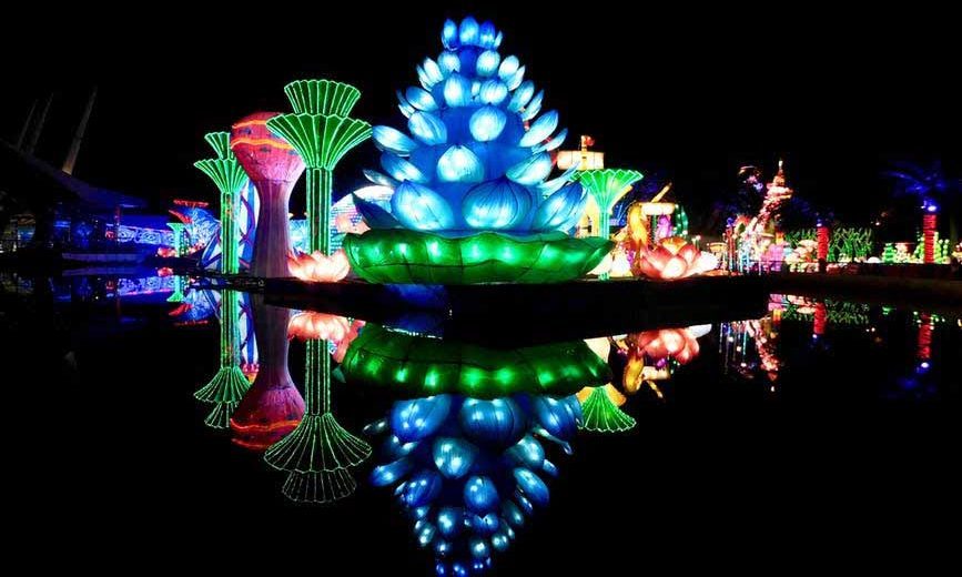 Dubai Garden Glow one of the most spectacular attractions in Dubai