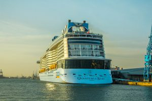 Royal Caribbean Quantum of the Seas sets sail from Singapore